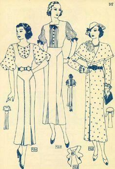 Lutterloh ~ 1930s? Day wear