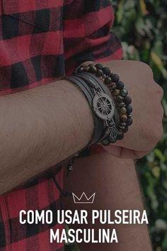 pulseira, homem, moda