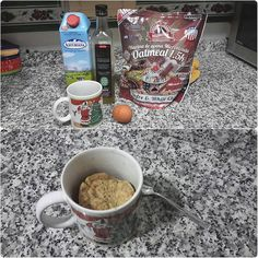 En #Instagram: Buen post entreno y fitness  3-4 cucharadas de leche 2-3 cucharadas de aceite 1 huevo 3-4 cucharadas de harina de avena Se mezcla en una taza grande y 3' al microondas.  Gracias a @victoriaespejo8 por la recetita . .  #recipe #healthy #fitness #brownie #express #food http://ift.tt/2dy6y78