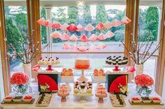 Japanese Themed Birthday Party with SUCH CUTE Ideas via Kara's Party Ideas | Kara'sPartyIdeas.com #Japan #Origami #Travel #PartyIdeas #Supplies (4)