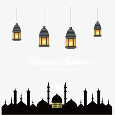 Eid al adha mosque in arabia Vector and PNG