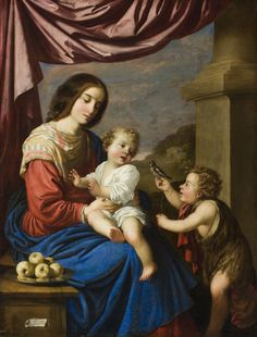 Virgin and Child with Saint John // 1658 // Francisco de Zurbarán // © The San Diego Museum of Art