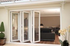 uPVC Windows and Doors are highly durable, strong, low cost, easy maintenance, are easy to install and come in a wide range of colors & designs. Best Sliding Glass Doors, Sliding French Doors, Double Doors, Upvc Windows, Interior Barn Doors, Exterior Doors, Room Door Design, House Design, The Doors