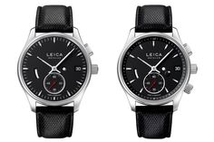 Leica jumps into the watch business with the L1 and L2 timepieces.