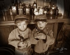 Can't get enough of these little faces! At Silk's Saloon Olde Tyme Photos in Glenwood Springs, CO at Glenwood Caverns Adventure Park. Boy Photo Shoot, Photo Shoots, Old Time Photos, Boy Photos, Cow, Captain Hat, Faces, Adventure, Park