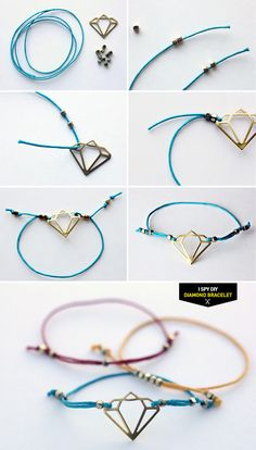 "DIY STEPS | ""Diamond"" Bracelet"