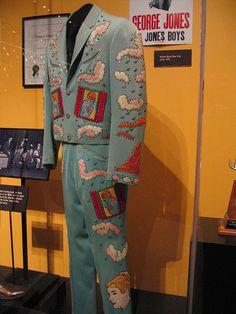 George Jones' Nudie Suit blue
