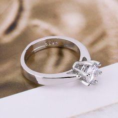 Hot-Sterling-Silver-cubic-zirconia-Women-Elegant-Jewelry-Wedding-Ring-Size-6-8