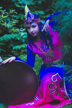 persian neo- classical dancer Apsara Afsanesara (http://facebook.com/apsararaqs , http://youtube.com/aquilaardens )  , photo by Karolina Byrska