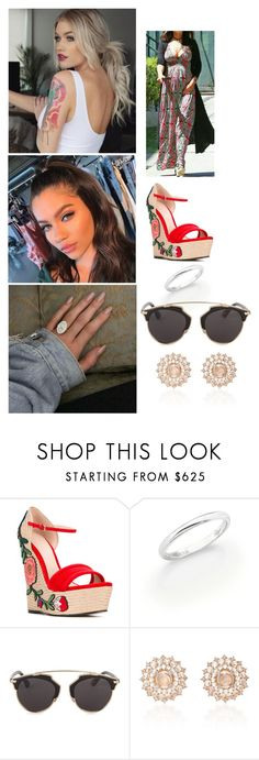 """""""Love On The Brain"""" by paukar ❤ liked on Polyvore featuring Gucci, De Beers, Christian Dior and Nam Cho"""