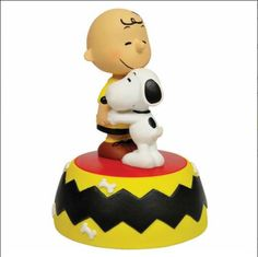 Charlie Brown & Snoopy 'Friends Forever' music box.