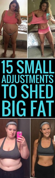 15 small changes to your daily habits to lose weight fast.