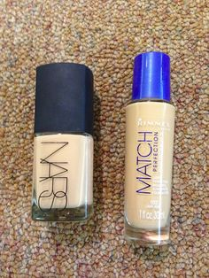 NARS Sheer Glow Foundation Dupe: Rimmel Match Perfection Light Perfecting Radiance Sunscreen Foundation