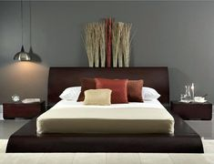 Looking for to add a zen touch to your bedrooms? Find full gallery of zen bedroom design pictures from top interior designers. Contemporary Bedroom Furniture, Bedroom Furniture Sets, Bedroom Sets, Home Bedroom, Bedroom Decor, Zen Bedrooms, Master Bedroom, Bedding Sets, Zen Living Rooms