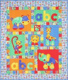 Alphabet Jungle by Kids Quilts