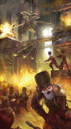 Fantasy Flight Games [News] - No Surrender Warhammer 40k Memes, Warhammer 40000, Warhammer Art, Warhammer Fantasy, Warhammer Imperial Guard, 40k Imperial Guard, Space Marine, Fantasy Artwork, Dieselpunk