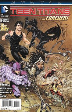 Be Careful What You Wish For ___Written By Scott Lobdell , Art Kenneth Rocafort, Tom Derenick, R.B. Silva and Vicente Cifuentes , And Cover Kenneth Rocafort , Skitter finally returns to the team - and