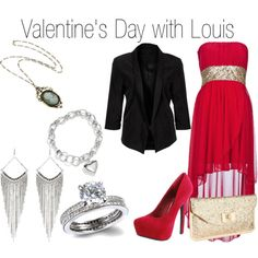 Valentine's Day with Louis - Polyvore
