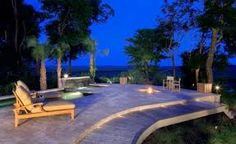 Image result for WOOD AND STONE DECKS WITH BUILT IN FIRE PLACE