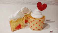 Vanille Cupcakes mit Marshmallow Frosting