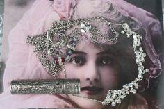 Used Sterling Silver Jewelry Key: 2316742463 Funky Jewelry, Unusual Jewelry, Antique Jewelry, Vintage Jewelry, Silver Lockets, Sterling Silver Jewelry, Silver Ring, Royal Jewelry, Gold Jewellery