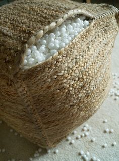 Making the house a home without a high end budget. Design, Interiors, DIY and Vintage. Diy Outdoor Furniture, Diy Furniture, Diy Pouffe, Outdoor Pouf, Diy Ottoman, Floor Pouf, Boho Diy, Diy Pillows, My New Room