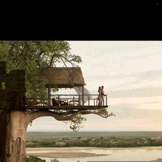 So romantic! Tree house getaway anyone? #treehouse #view #loveit #home #homedecor #homedesign #decor #design #designoftheday #picoftheday #pictureoftheday #photooftheday #interiors #interiordesign #ig #igdaily #follow #ideas #instahub #instapic #instagood #instahome #instadaily #instadecor #instaideas #instadesign #instafollowers #instainteriors... - Interior Design Ideas, Interior Decor and Designs, Home Design Inspiration, Room Design Ideas, Interior Decorating, Furniture And Accessories