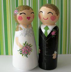 Hand Painted Love Boxes Custom Wedding by handpaintedloveboxes, $150.00