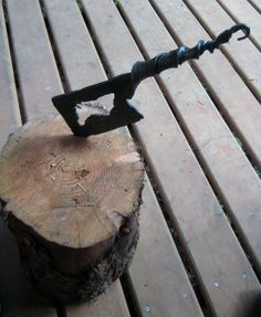 Primitive Kindling Axe Hand Forged by by FoggyMountainForge, $50.00