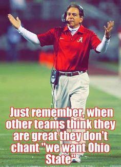 Dats right! College Football Memes, Sec Football, Crimson Tide Football, Best Football Team, Alabama Football, Alabama Crimson Tide, Football Humor, Sport Football, Lsu