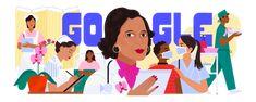 Celebrating Dr. Ildaura Murillo-Rohde Hispanic American, National Issues, Psychiatric Nursing, You Doodle, Hispanic Heritage Month, Aesthetic Desktop Wallpaper, Google Doodles, Living Legends