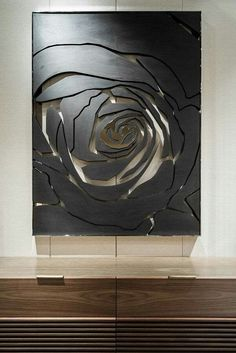 25 Rose Wall Painting Designs - decorisme Made from one of the most difficult minerals on earth, quartz countertops are among the most durable choices for kitchens Wall Sculptures, Sculpture Art, Rose Wall, Paint Designs, Wood Wall Art, Wall Design, 3d Design, Metal Art, Art Projects