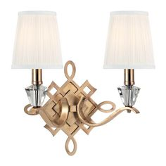 2 Light Wall Sconce : 9VXCN   The Lighting Gallery