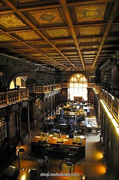 A Discovery of Witches: Bodleian Library in Oxford