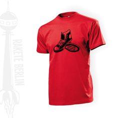 T-Shirt 'Chucks'  von RaketeBerlin auf DaWanda.com