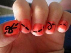 Scissors Cute Easy Nail Designs Easy Nail Ideas for Beginner