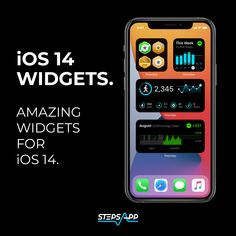 Have you tried the iOS 14 widgets yet? #iOS14widget #stepsapp #everystepcounts #innovation #applewatch Have You Tried, Apple Watch, Counter, Innovation, Ios