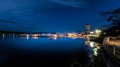 A late evening photo of Nanaimo's beautiful seawall. British Columbia, Beautiful