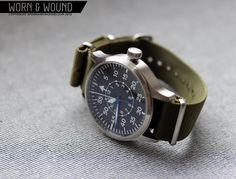 Steinhart Nav B-Urh II B-Type, pilot observation watch.