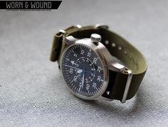 Steinhart Nav B-Urh II B-Type, pilot observation watch.