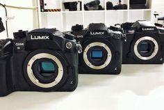 The @panasonicprovideo #GH4 & #GH5 & #GH5s cameras... . #workhorse #panasonic #panasonicgh4 #panasonicgh5 #panasonicgh5s #lumix #mft #m43 #4k #vlog
