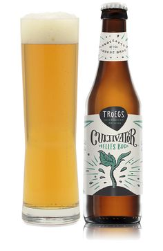 """Cultivator Helles Bock """"This spring bock delivers hints of toasted grains, fresh baked bread and delicate floral hops."""" Tröegs Independent Brewing, Hershey PA (12oz 6.9%) April 2016"""