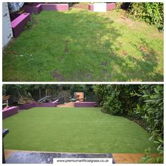 Amazing garden with some great artificial grass. Perfectly manicured with next to no maintenance all year round. Cant go round with artificial grass.
