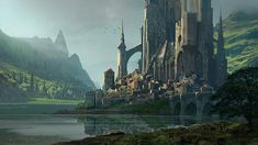 Art director Raphael Lacoste shows how to handle light and atmospheric depth, when thinking big.