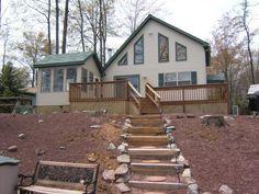 3 Bedroom Vacation Rental in Arrowhead Lake - AHL51A - Pocono Vacation Rentals - Pocono Resorts Realty  $1425 - boat, no dogs, air