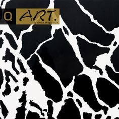 This is the New York Nero Calacutta. It is part of our brand new limited edition 'ART' range designed by Patrick Morgan RCA. It features a black and white marbling effect that is very prominent.