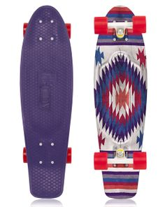 Penny Nickel Skateboard Aztec Purple Coming Soon. WANT.