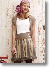 Crochet skirt pattern
