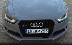 Audi RS 4 Avant in Nardo Grey