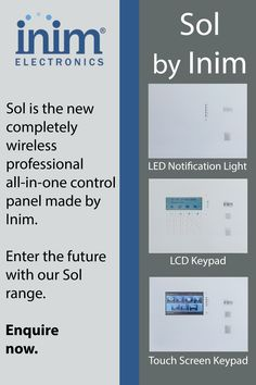 Have you seen our new Sol Range yet? For more information call us on 021 946 Home Automation, Range, Electronics, Products, Cookers, Consumer Electronics, Gadget